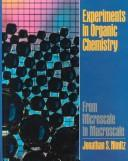 Download Experiments in organic chemistry