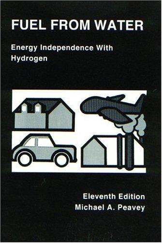 Fuel from Water: Energy Independence with Hydrogen, Peavey, Michael A.