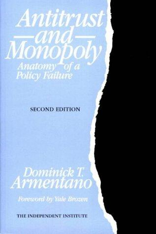 Download Antitrust and monopoly