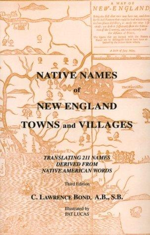 Native names of New England towns and villages