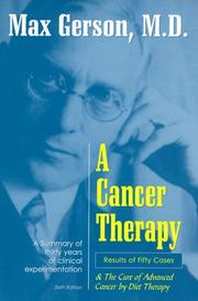 A Cancer Therapy: Results of Fifty Cases and the Cure of Advanced Cancer by Diet Therapy
