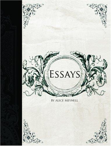 Download Essays  (Large Print Edition)