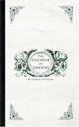 Download The Duchesse of Langeais