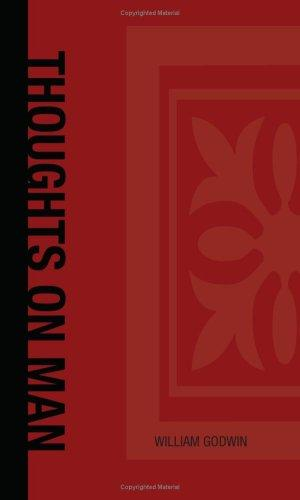 Download Thoughts on Man, His Nature, Productions and Discoveries