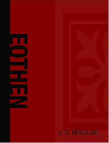 Eothen (Large Print Edition)