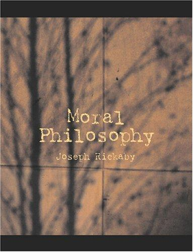 Download Moral Philosophy (Large Print Edition)