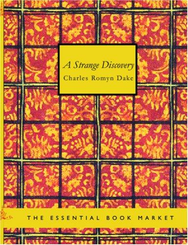 A Strange Discovery (large Print Edition)