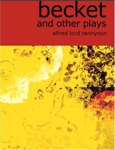 Download Becket and Other Plays (Large Print Edition)