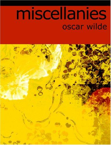 Download Miscellanies (Large Print Edition)