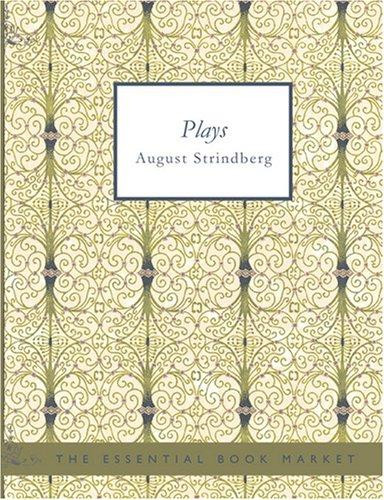 Download Plays by August Strindberg (Large Print Edition)