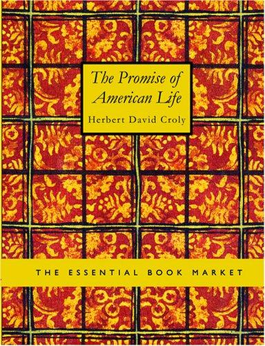 The Promise of American Life (Large Print Edition)