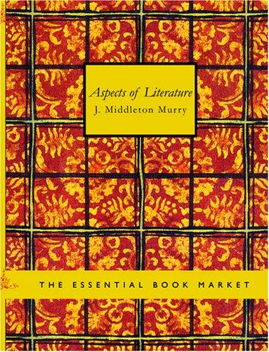 Download Aspects of Literature (Large Print Edition)