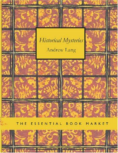 Historical Mysteries (Large Print Edition)