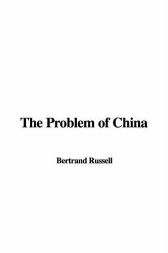 Download The Problem of China