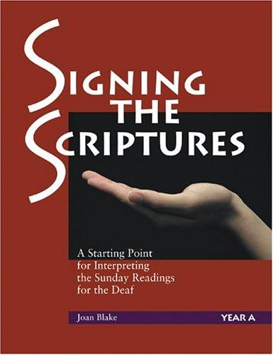 Download Signing The Scriptures
