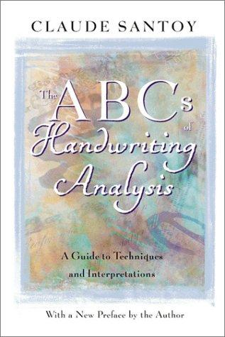 The ABC's of Handwriting Analysis