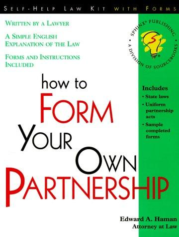 Download How to form your own partnership
