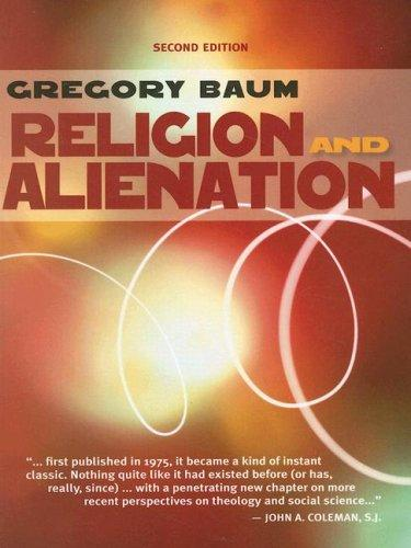 Download Religion and Alienation