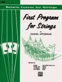 Download First Program for Strings, Level 1 (Belwin Course for Strings)