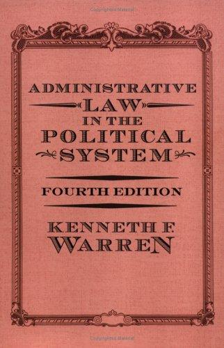 Download Administrative law in the political system