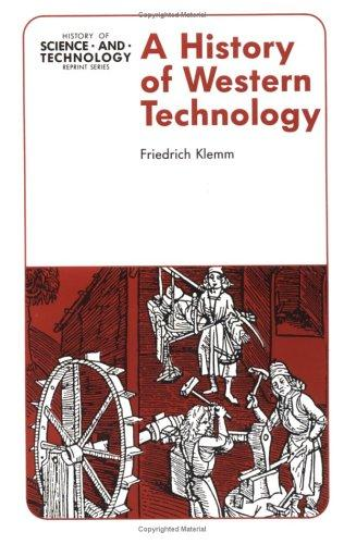 A history of Western technology
