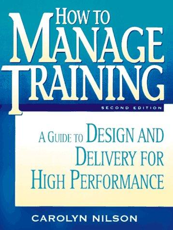 Download How to manage training
