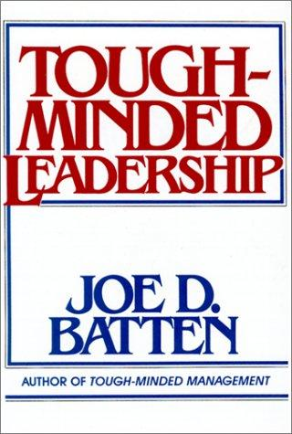 Download Tough Minded Leadership