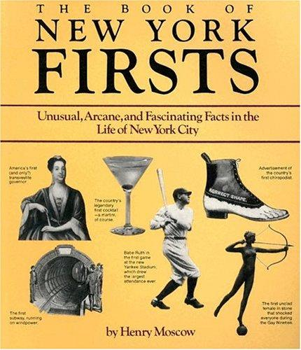The book of New York firsts