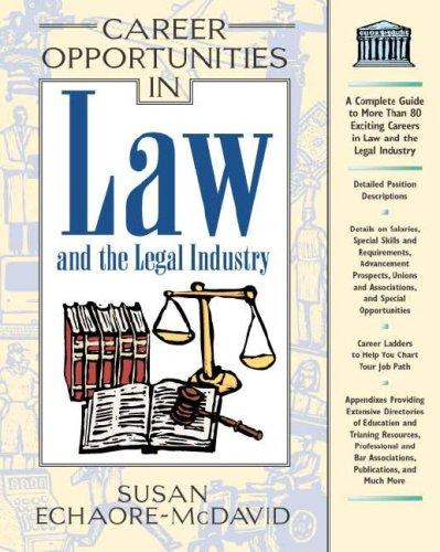 Download Career Opportunities in Law and the Legal Industry (Career Opportunities)