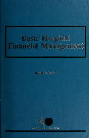 Basic hospital financial management by Donald F. Beck