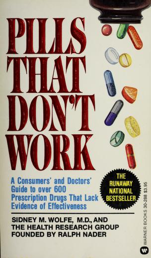 Cover of: Pills that don't work | Sidney M. Wolfe