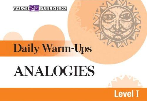 Analogies (Daily Warm-Ups) by Liza Kleinman