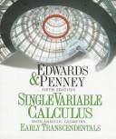 Single-variable calculus by C. H. Edwards