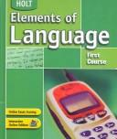 Image 0 of Elements of Language: Student Edition Grade 7 2004