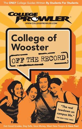 College of Wooster Oh 2007 (Off the Record) by Sarah Core