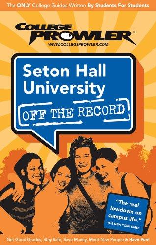 Seton Hall University NJ 2007 by College Prowler