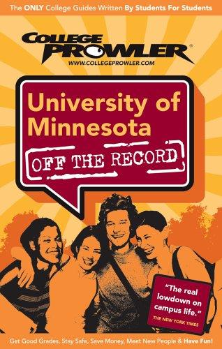 University of Minnesota 2007 by Amy S. Palmer