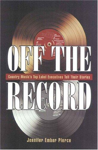 Off the record by Jennifer Ember Pierce