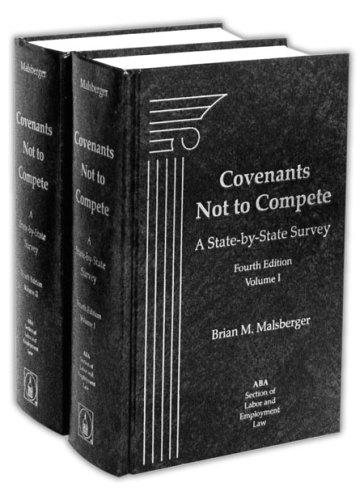 Covenants not to compete