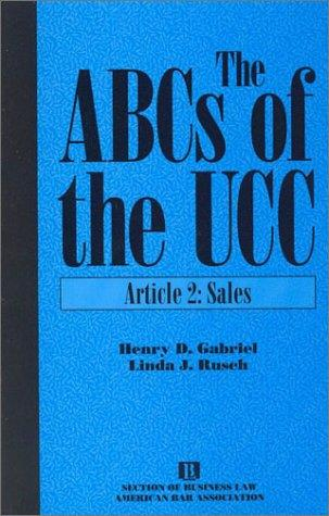 The ABCs of the UCC.