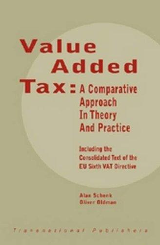 Value added tax by Alan Schenk