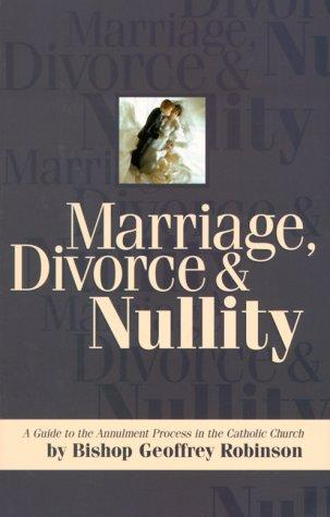 Marriage, Divorce and Nullity