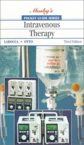 Pocket guide to intravenous therapy