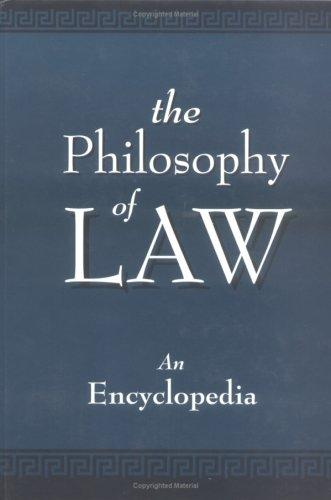 The Philosophy of Law by C. Gray