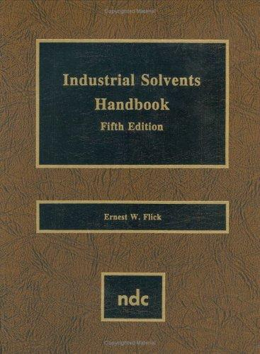 Industrial solvents handbook by