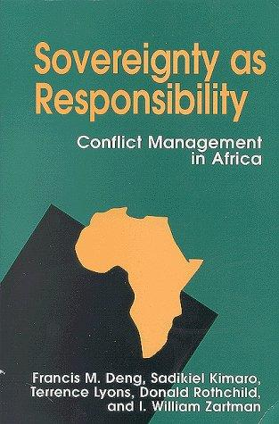 Sovereignty As Responsibility by Francis Mading Deng